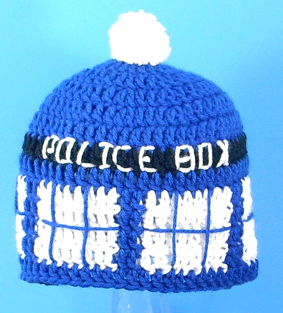Tardis Hat for Fans of Doctor Who